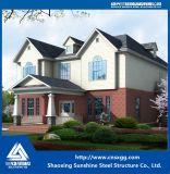 Casa prefabricada 2017 con la viga ligera de la estructura de acero para la casa viva
