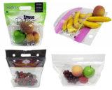 透過ジッパーのプラスチック包装の新鮮な果物袋