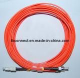 Sc-St Mm Duplex Cables de fibra óptica