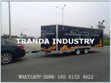 Remorque mobile de poulet de Rotisserie de véhicule de cuisine de Tuk Tuk de nourriture de rue