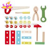 Das Lehrmittel anpassen, das gesetzten hölzernen Kind-Hilfsmittel-Prüftisch W03D093 spielt