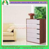 Tabelas de cabeceira de madeira BRITÂNICAS com mobília do quarto do gabinete da caixa de Nightstand da gaveta