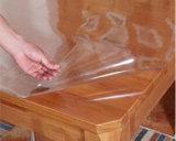 Limpar a tampa da mesa de PVC maleável