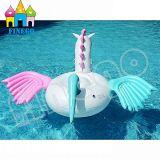 Поплавки игрушки бассеина единорога Pegaus воздуха воды Swim раздувные