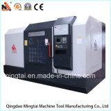 Extrémité tour CNC/CNC face à tour à tour horizontal/métal de tourner la machine