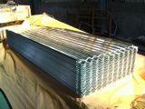 Placa galvanizada ondulada de aço da folha do fabricante de China