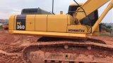El mejor excavador hidráulico usado original KOMATSU PC360-7 de la correa eslabonada de las condiciones de trabajo para la venta (2013)