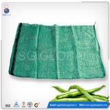 белые мешки сетки 15kg для упаковывая овоща