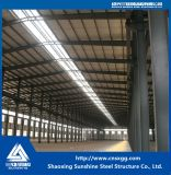 Edificio de acero del almacén de la estructura de acero