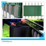 cerca dura del jardín del PVC de 100%Anti-UV Ral6005 el 19cm*2.525m