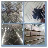 Placa de alumínio do verificador de cinco barras (6061 6063 5052 8011)