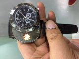 Het hete Navulbare Horloge USB van het Kwarts van de Verkoop Elektronische Lichtere