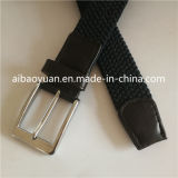 Fashiionのカーボンブラックヤーンの編みこみの伸縮性があるベルト