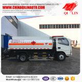 판매를 위한 유조선 트럭이 전반적인 차원에 의하여 5995mm*2000mm*2500mm 급유한다