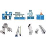 Perfil de PVC de la línea de producción de la máquina de extrusión
