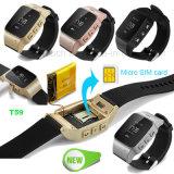 2g Anti-Verlorenes erwachsenes Handgelenk/intelligente GPS-Verfolger-Uhr mit PAS T59