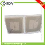 étiquette de papier de livre de bibliothèque d'IDENTIFICATION RF de l'étiquette ISO15693 ICODE SLIX de 50*50mm