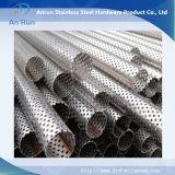 Tubo de metal perfurada de alumínio