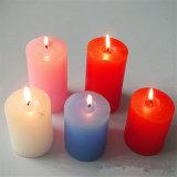 بارافين شمع [10إكس10كم] عمود شمعة أبيض [أونسنتد]