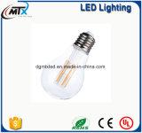 Hogar incandescente del bulbo de Edison del bulbo del filamento de la bombilla 4W LED A19 ST58 G95 G80 ST64 C35 G45 de la luz de bulbo de MTX LED E27 B22 E14