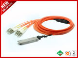 40Gpbs AOC de fibra óptica OM3 LC cable óptico