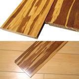 Tiger Strand tejida con pisos de bambú satinado mate