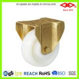 Rodízio resistente de nylon branco (P160-20F125X50S)