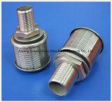 Boquilla de SUS304 316filter/elemento filtrante del alambre de la cuña