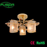 Qualitäts-Glasdecken-Goldleuchter-Beleuchtung