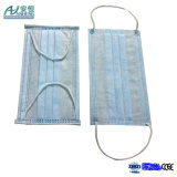 3 Ply Disposable Blue Earloop Non Woven Face Mask Filters Bacteria