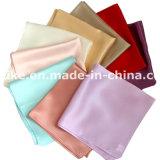 Il fazzoletto Handmade quadrato Pocket di seta puro di 100% progetta il marchio per il cliente