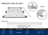 철 지붕 장이 지부티에 의하여 직류 전기를 통하거나 물결 모양 기와가 직류 전기를 통했다