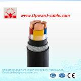 PVC/XLPEの外装の適用範囲が広い銅によって絶縁される電線