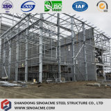 Edificio de acero pesado prefabricado de la construcción con los suelos multi