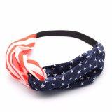 De Stof Headwrap van de manier met het Amerikaanse Symbool van de Vlag