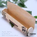 Hongdao Macaron de verificación de la corteza de madera con Diseño Logo_C