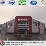 小売店のためのSinoacmeの鉄骨構造の商業建物