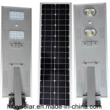 Réverbères solaires de bonne qualité des lumières 40W DEL tous dans un