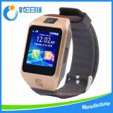 Relógio elegante do presente elegante da promoção com Bluetooth (Dz09S)