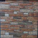 Azulejos rústicos de la pared o del tonto