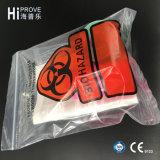 Bolsos modificados para requisitos particulares Ht-0725 del laboratorio médico del espécimen de Biohazard
