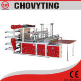 열 - 밀봉 Cold Cutting 두 배 Layer Four-Lines Bag Making Machine
