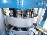Máquina giratória hidráulica grande da imprensa da tabuleta