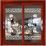 Раздвижная дверь Guangdong алюминиевая с фабрикой сети москита