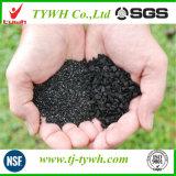 Carvão Granular Baseada em carbono ativado usado na indústria de produtos químicos