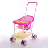 Vente en gros légère de transport de poussette de bébé de portée en plastique neuve de pp