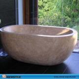 Travertineの浴槽