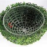 Giardino Hedges di aria aperta di Artficial Leaf Fence di Leaves