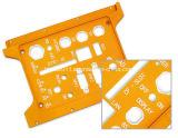 Panneau avant en aluminium anodisé de haute précision, plaque frontale en aluminium, plaque frontale en aluminium