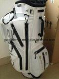 Подгонянное кожаный изготовление мешка тележки гольфа